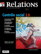Relations. No. 776, Janvier-Février 2015, Jonathan Durand-Folco