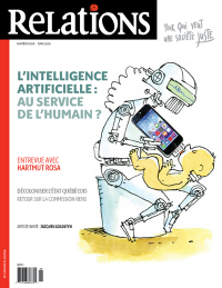 Vignette du livre Relations, No 808, mai-juin 2020 : L'intelligence artificielle