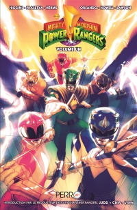 Vignette du livre Power Rangers : Mighty Morphin T.1