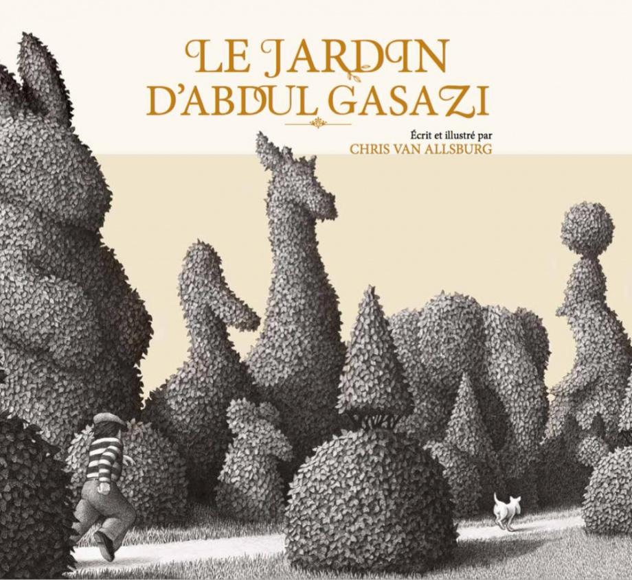 Top Le jardin d'Abdul Gasazi par Chris Van Allsburg | Jeunesse | 3-6  UL97