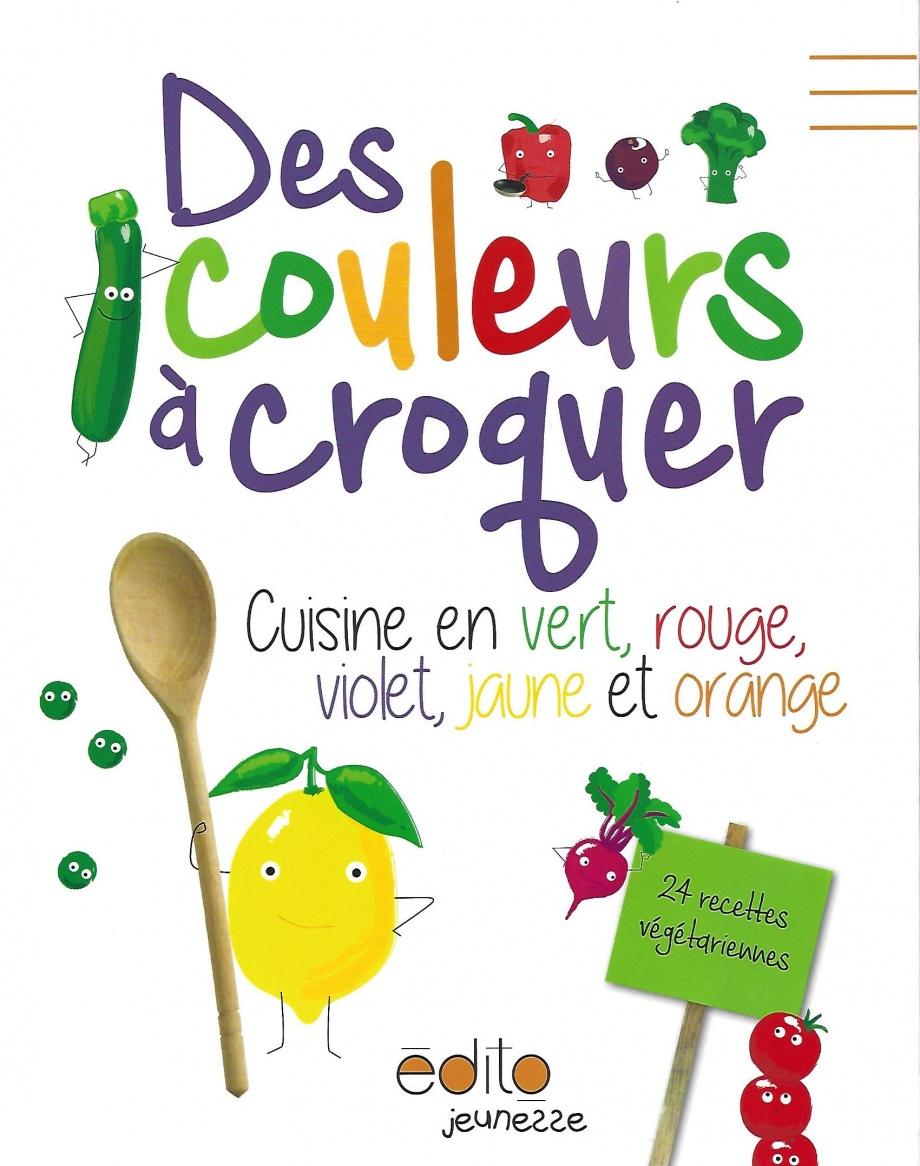 Des couleurs à croquer : cuisine en vert, rouge, violet, jaune ...