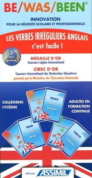 Be Was Been Les Verbes Irreguliers Anglais C Est Facile Par Martine Chotard Langues Apprentissage Des Langues Leslibraires Ca