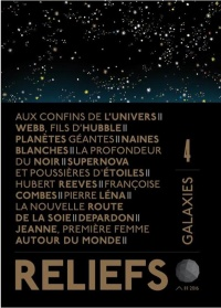 Vignette du livre Reliefs, No 4 : Galaxies