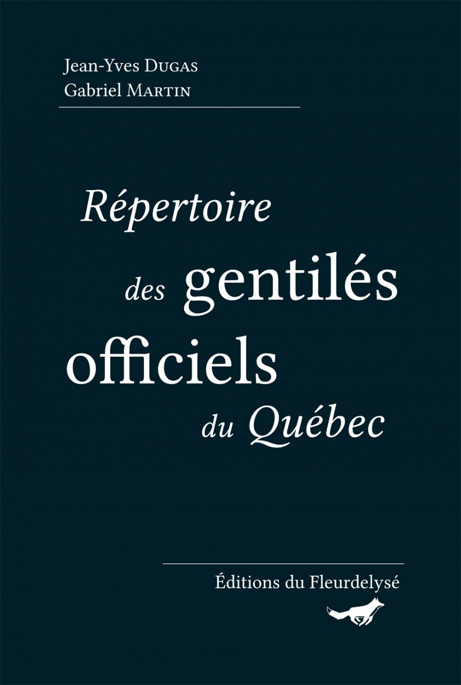 Répertoire des gentilés officiels du Québec