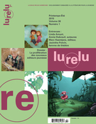 Lurelu. Vol. 38 No. 1, Printemps-Été 2015, Daniel Sernine