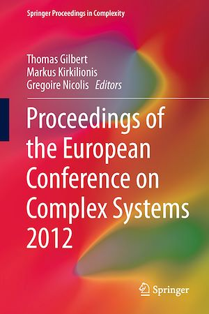 Vignette du livre Proceedings of the European Conference on Complex Systems 2012
