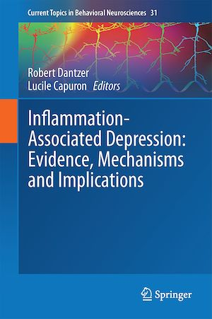 Vignette du livre Inflammation-Associated Depression: Evidence, Mechanisms and Implications