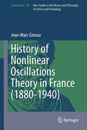 Vignette du livre History of Nonlinear Oscillations Theory in France (1880-1940)