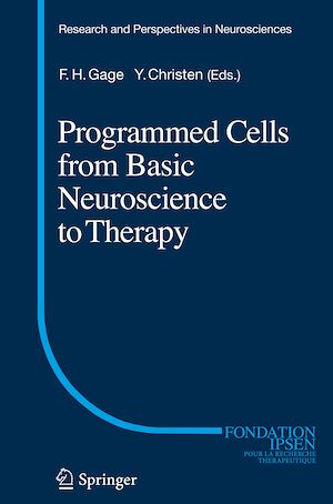 Vignette du livre Programmed Cells from Basic Neuroscience to Therapy