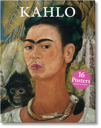 Kahlo : 16 posters ready to frame - Frida Kahlo