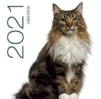 Vignette du livre Chats : calendrier de table 2021