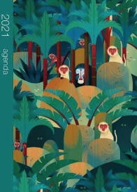 Vignette du livre Jungle : agenda 2021 - Claudia Bordin