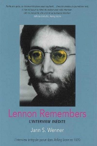 Vignette du livre Lennon Remembers : l'Interview Inédite