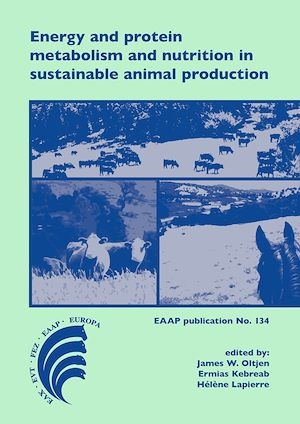 Vignette du livre Energy and protein metabolism and nutrition in sustainable animal production