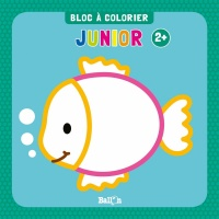 Vignette du livre Bloc à colorier junior 2+ : Poisson