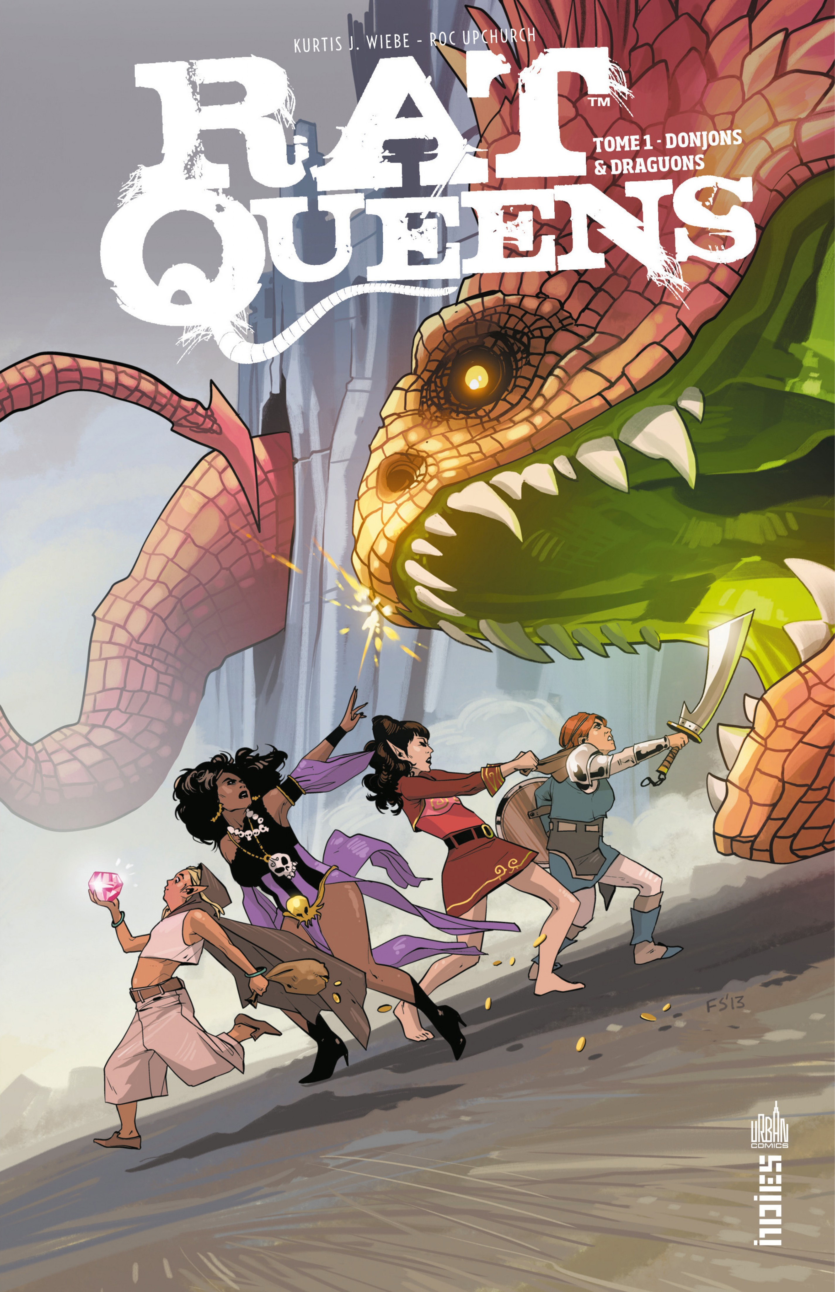 Vignette du livre Rat Queens T.1 : Donjons & dragons