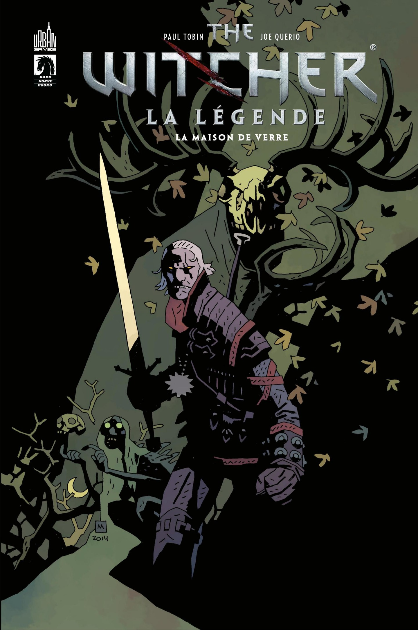 Vignette du livre The Witcher : la légende T.2 : La maison de verre - Paul Tobin, Joe Querio