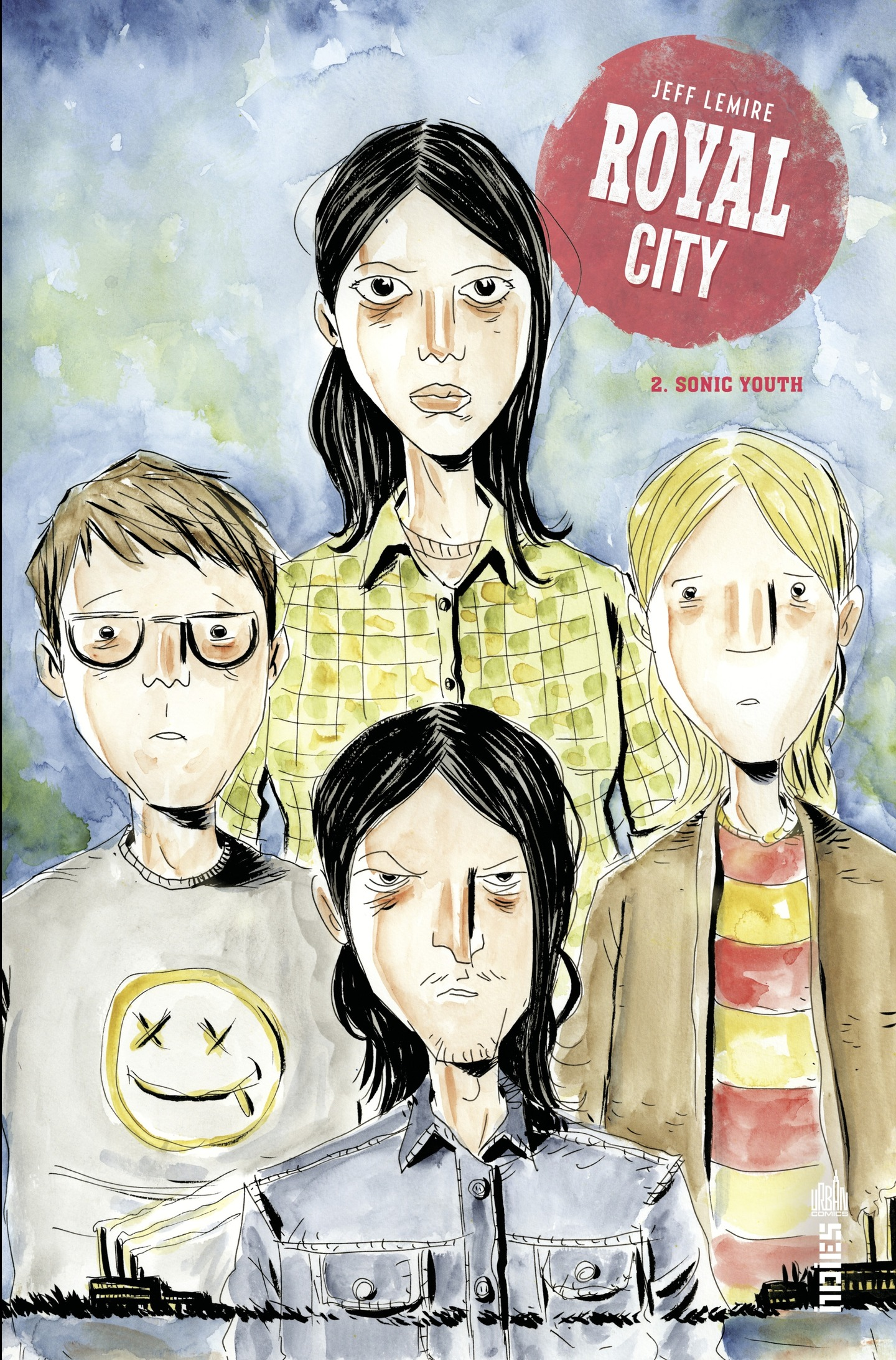 Vignette du livre Royal City T.2 : Sonic Youth - Jeff Lemire