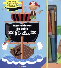 Pirates : mes tableaux de sable