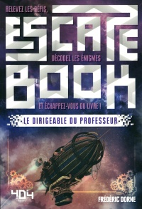Vignette du livre Escape Book : Le dirigeable du professeur