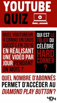 Vignette du livre Youtube quiz