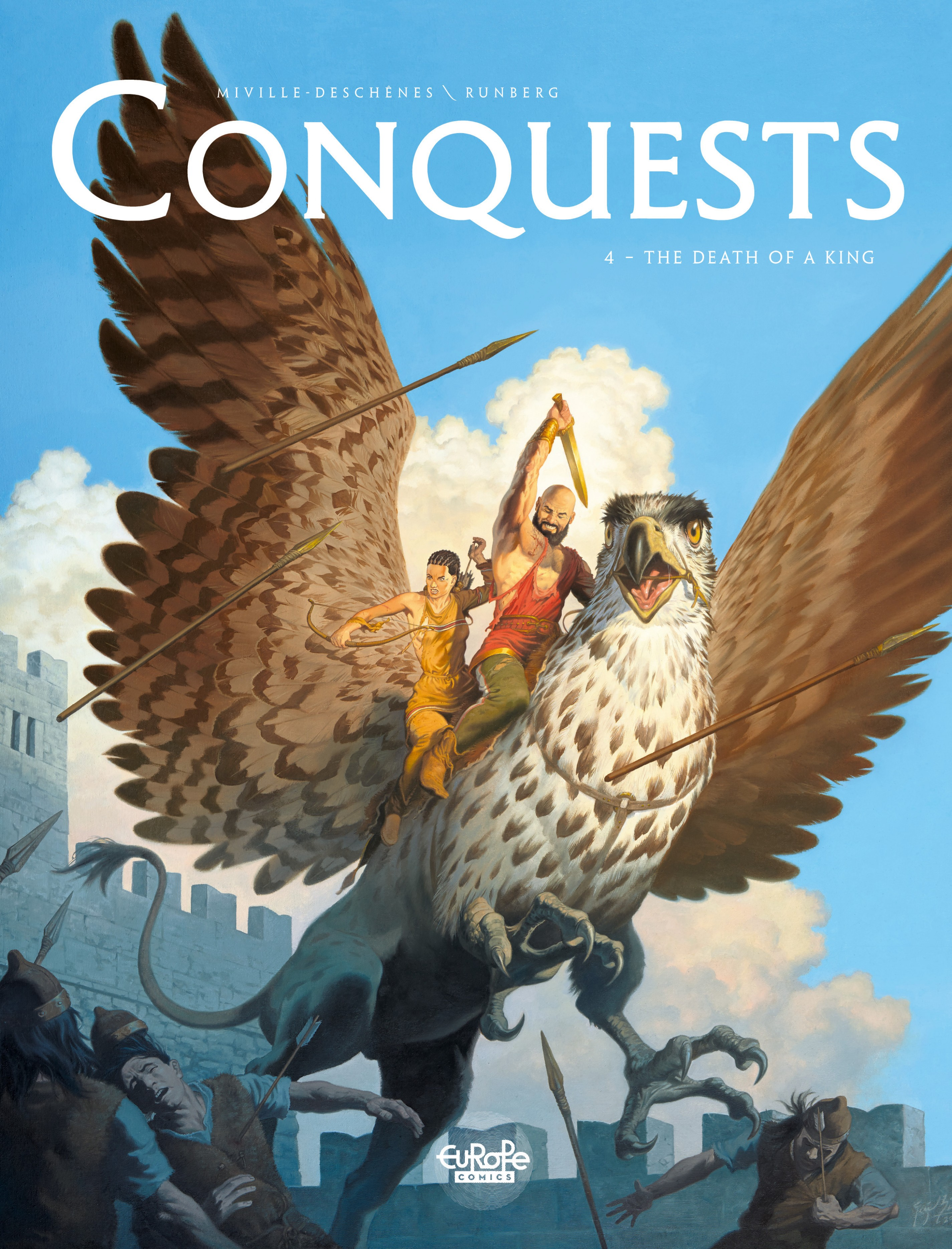 Vignette du livre Conquests - Volume 4 - The Death of a King