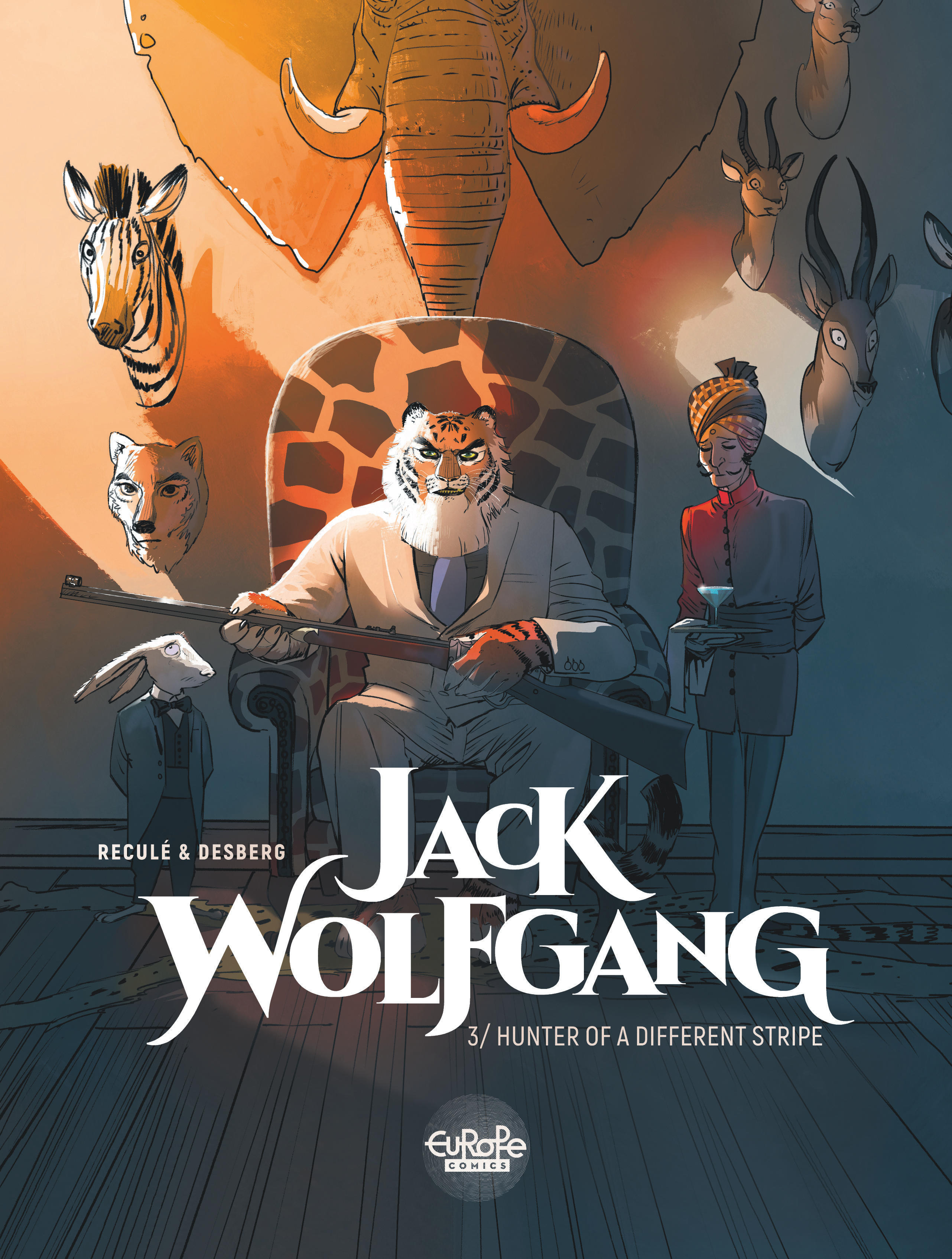 Vignette du livre Jack Wolfgang - Volume 3 - Hunter of a Different Stripe