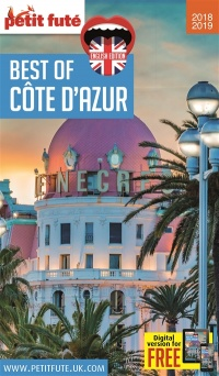 Vignette du livre Best of Côte d'Azur 2018-2019 - Dominique Auzias, Jean-Paul Labourdette