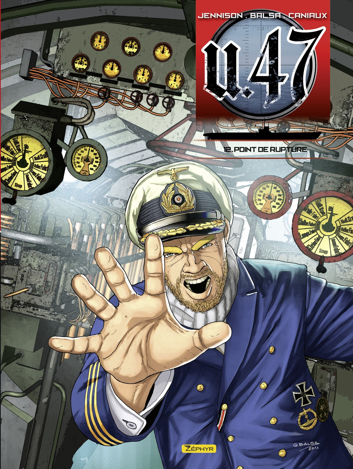 Vignette du livre U-47 T.12 : Point de rupture