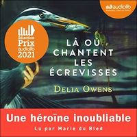 Là où chantent les écrevisses  2 CD mp3 (11h18) - Delia Owens