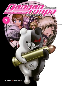 Vignette du livre Danganronpa : Trigger Happy Havoc : The Animation T.3
