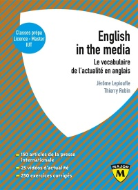 Vignette du livre English in the media