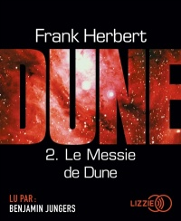 Vignette du livre Le cycle de Dune T.2 : Le messie de Dune  CD mp3