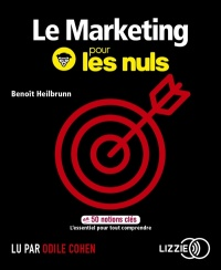 Vignette du livre Le marketing pour les nuls en 50 notions clés  CD mp3