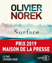 Vignette du livre Surface  CD mp3 - Olivier Norek