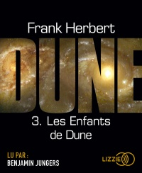 Le cycle de Dune T.3 : Les enfants de Dune  CD mp3 - Frank Herbert