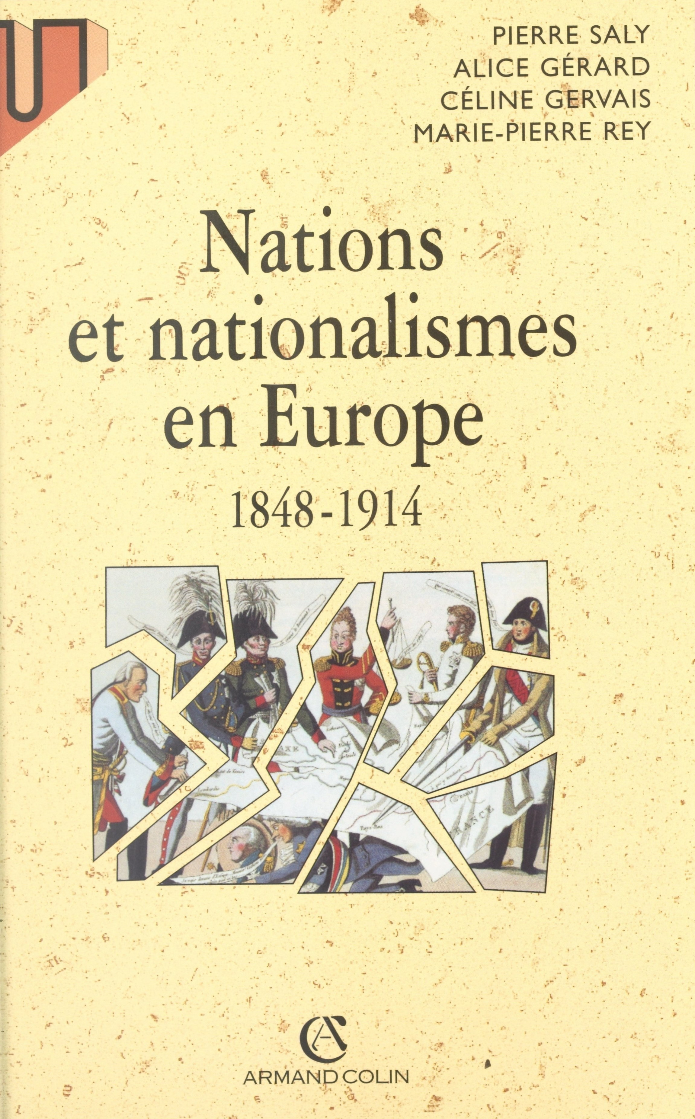 Vignette du livre Nations et nationalismes en Europe, 1848-1914