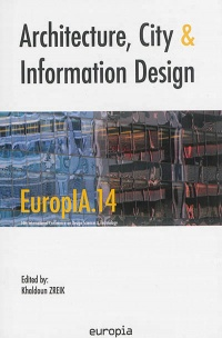 Vignette du livre Architecture, city and information design: EuropIA.14