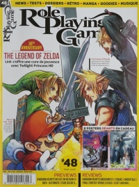 Vignette du livre Role Playing Game : tout le RPG sur console, No 48