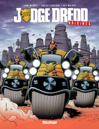 Vignette du livre Judge Dredd : origines