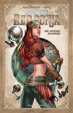 Vignette du livre Legenderry : Red Sonja