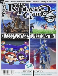 Vignette du livre Role Playing Game : tout le RPG sur console, No 56