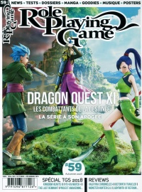 Vignette du livre Role Playing Game... No 59 : Dragon Quest XI Les combattants de..