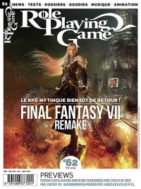 Vignette du livre Role Playing Game : tout le RPG sur console, No 62